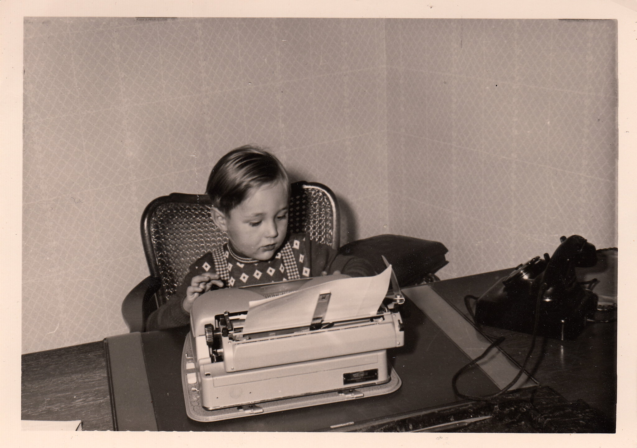 The young writer (late 1950s)