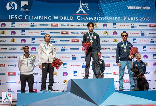IFSC World Championships Paris 2016