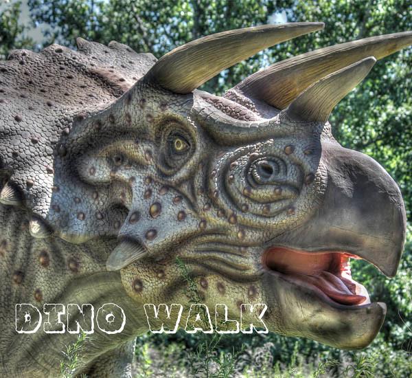 Dinosaur Museum Animatronic Dinosaur