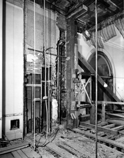 Southeast View of the Yellow Bathroom in the White House, 02/23/1950