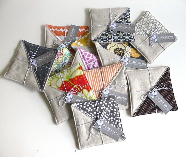 Jenny Bartoy: Custom Mug Rugs