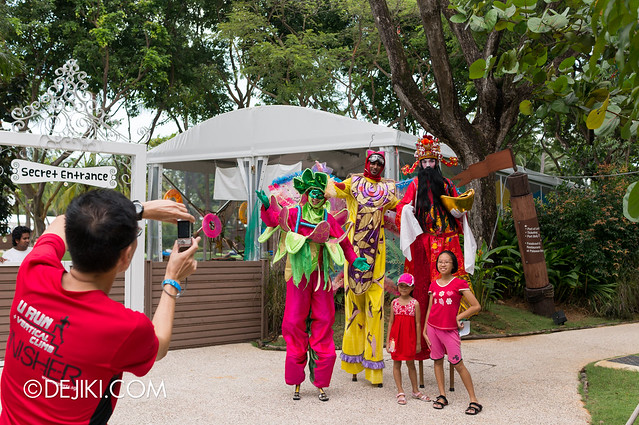 Sentosa Flowers 2013 - Characters