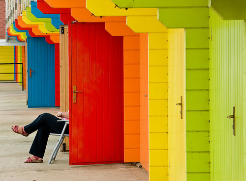 scarborough beach huts by acpics66