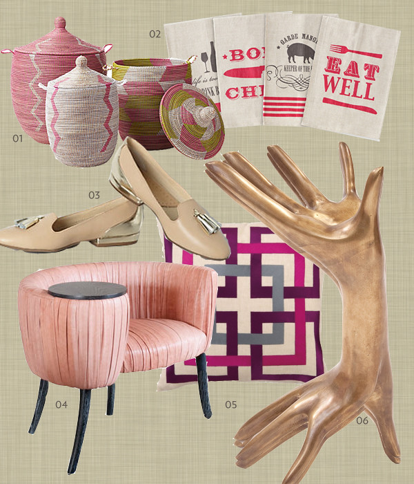 Pink Blush collage