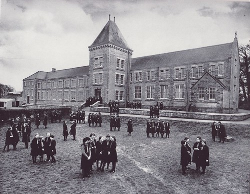 c1958. St Louis Grammar School Kilkeel, Co. Down, Northern Ireland