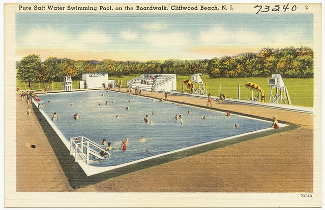 Pure salt water swimming pool on the boardwalk cliffwood - Public salt water swimming pools melbourne ...