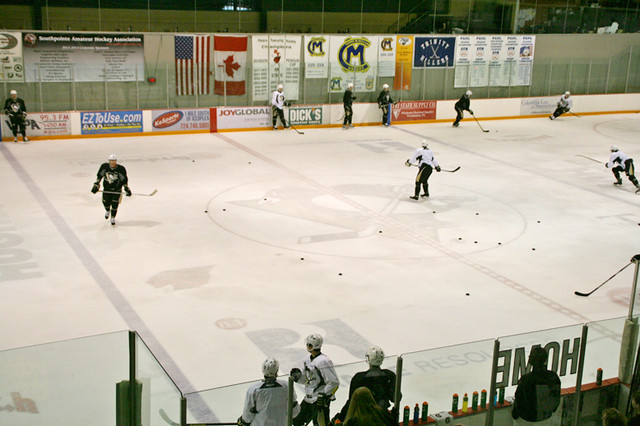 Penguins Practice