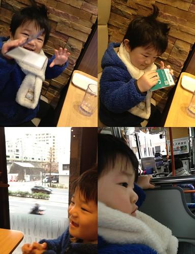 朝散歩 2013/2/15