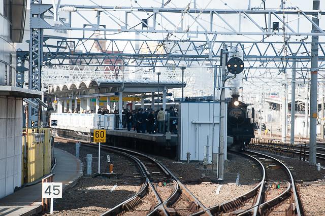 名古屋駅 C56 160