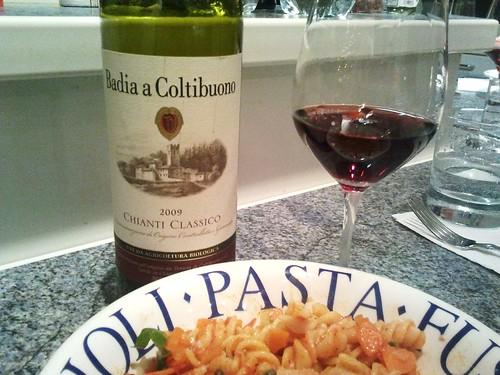 Chianti Classico und Pasta