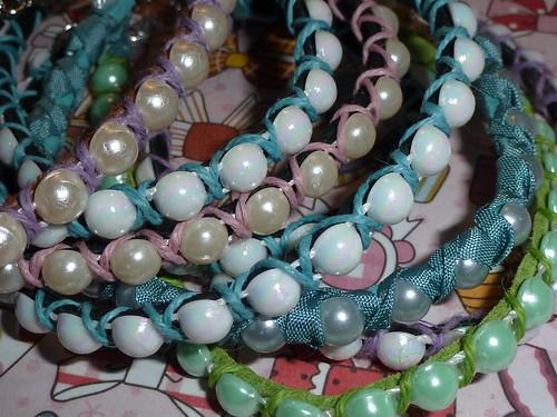 Finished more bracelets