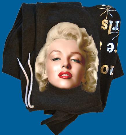 Marilyn Monroe Clothing - Marilyn Monroe Hoodie