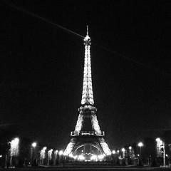 Obligatory Eiffel Tower photo.