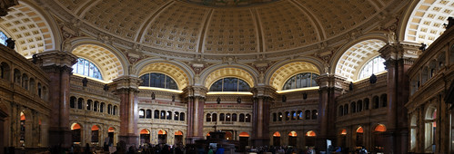 Library of Congress Main Reading Room Panorama (NEX3)