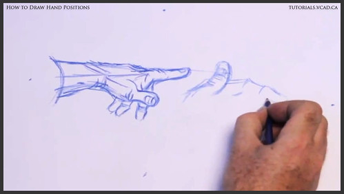 learn how to draw hand positions 006