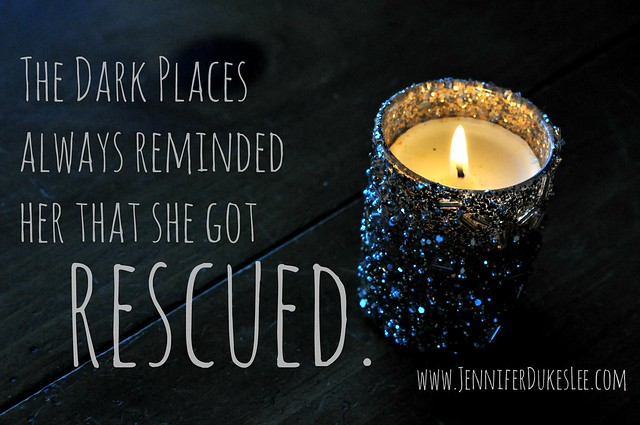 dark places, rescued, light