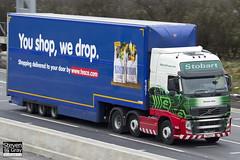 Volvo FH 6x2 Tractor - PX11 CCY - Gemma Kate - Eddie Stobart - M1 J10 Luton - Steven Gray - IMG_2342