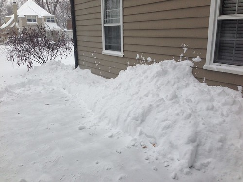 Cleared Snow from Driveway