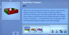 Head Start Playpen