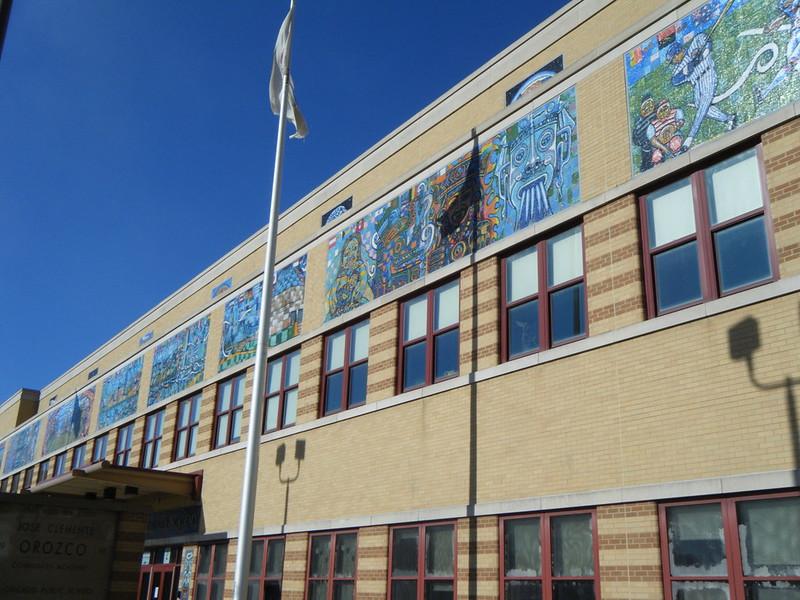 Mosaics on Orozco Community Academy