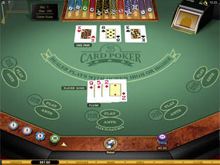 Tri Card Poker Gold Series