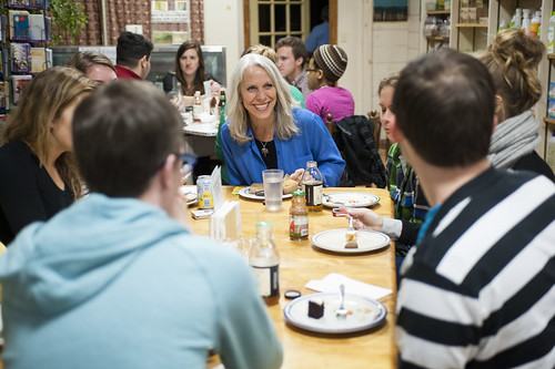 Dinner with Robyn Ochs by colgateuniversity