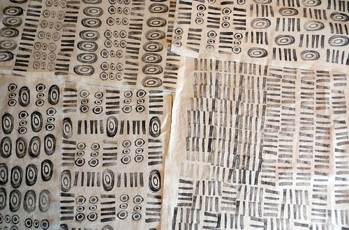 stampin cloth