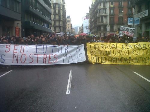 #28fvaga manifestació a Barcelona
