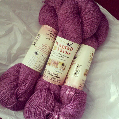 My weekend fix. #yarnporn