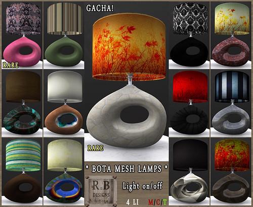 RnB Bota Mesh Lamps - Gacha (t)