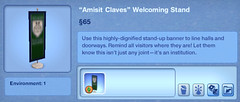 Amisit Clavess Welcoming Stand