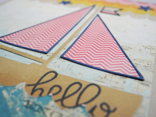Hello Sailboat (detail)