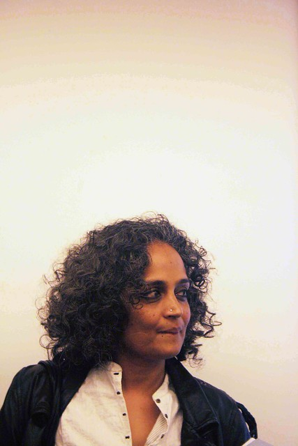 City Sighting – Arundhati Roy, India Islamic Centre