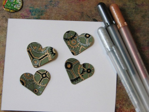 Steampunk Shamrock Pin 002