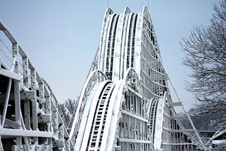 Kings Island Snow