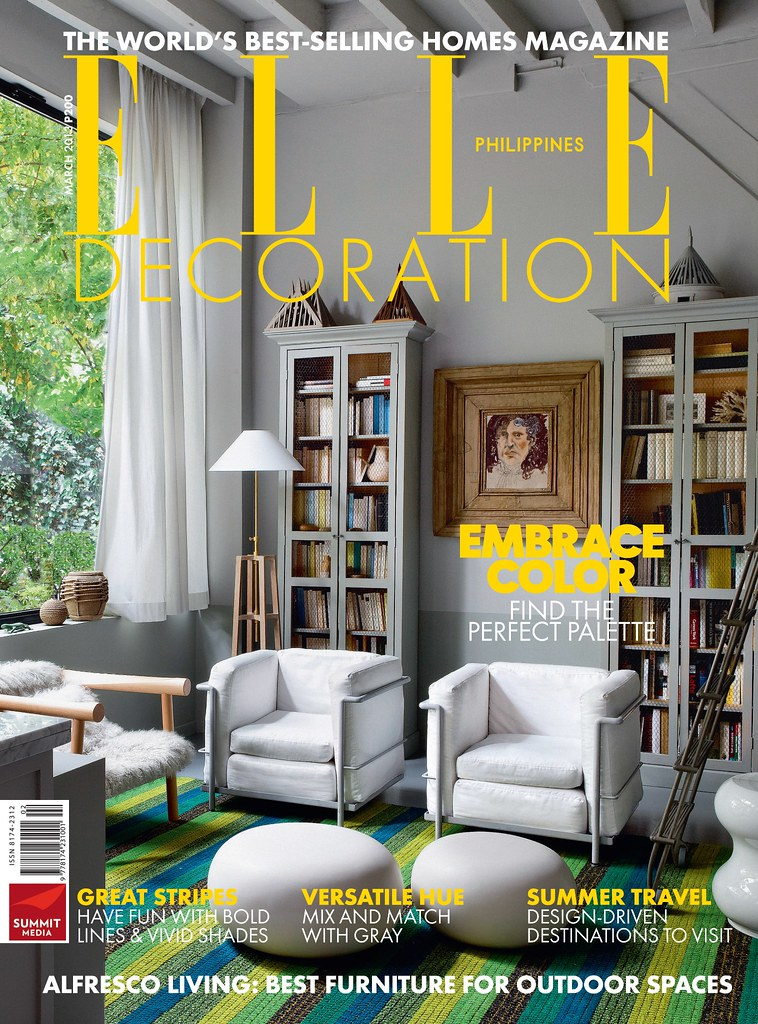 Elle Decoration cover March 2013