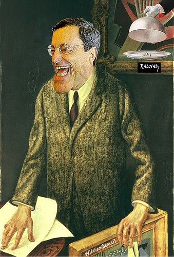 MARIO DRAGHI by Colonel Flick/WilliamBanzai7