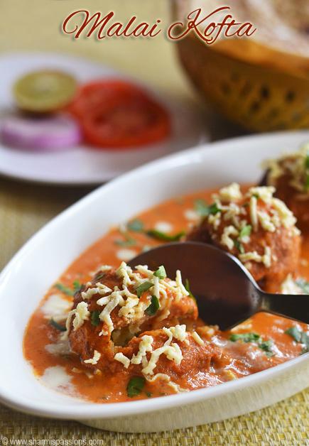Malai kofta recipe malai kofta gravy restaurant style sharmis malai kofta gravy restaurant style forumfinder Images