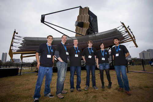 Volunteers for JWST @ SXSW