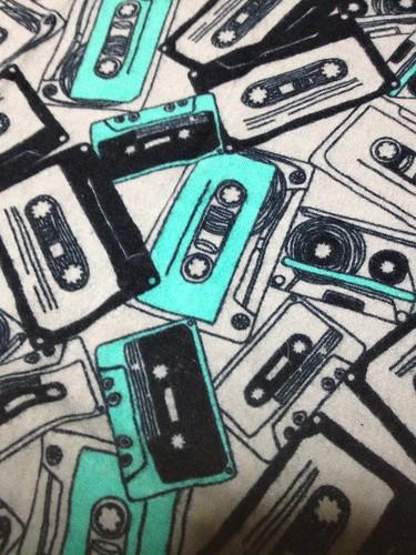 Cassette Tape Flannel