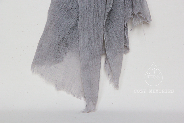 naturally dyed with osyris alba
