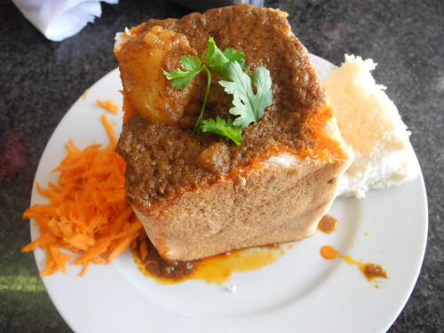 Paul And Queenie S World Bunny Chow In Durban Cafe India