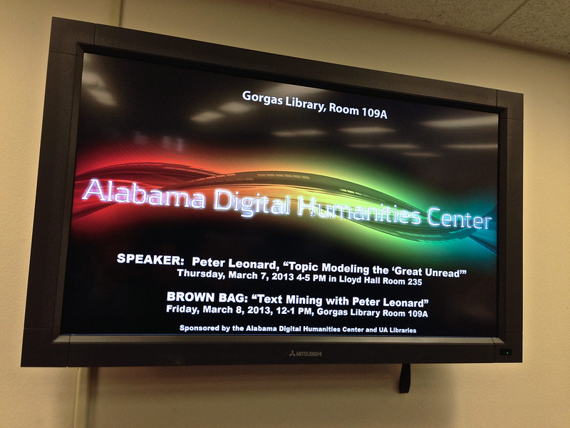 Alabama Digital Humanities Center