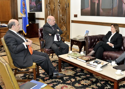 Secretary General Receives Minister of Justice and Human Rights of Peru