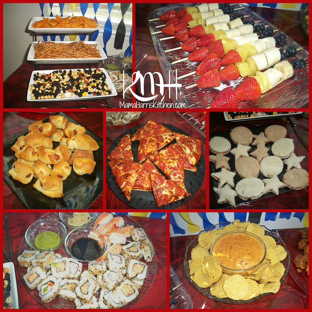 Finger Foods For Parties: A Superhero Birthday Party!