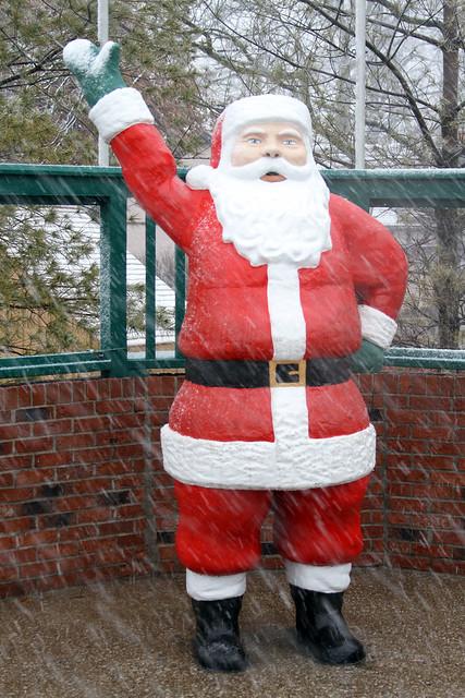 Santa's snowfall