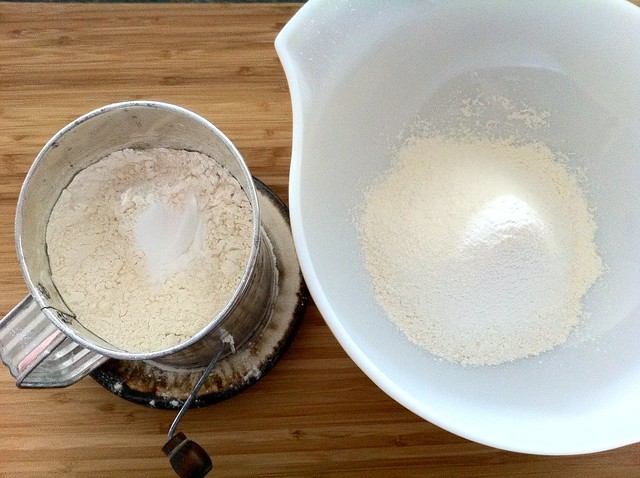 Sifting Flour and Leaveners
