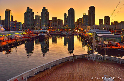 San Diego Dawn by James Neeley