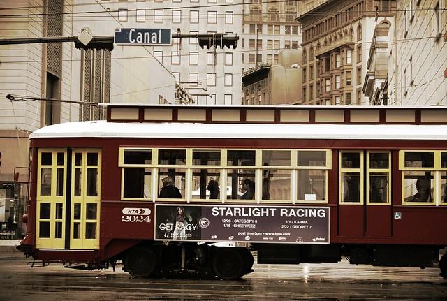 Street car, New Orleans
