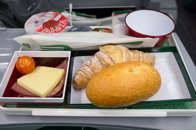 アリタリア-イタリア航空 機内食